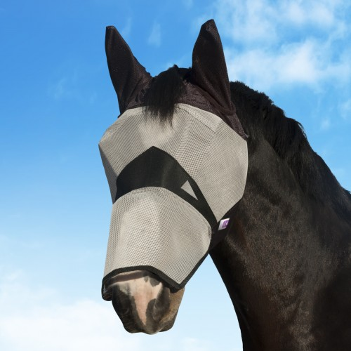 KM Horse Fly Mask with nose