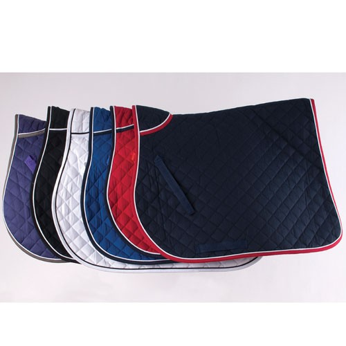 407-Rhinegold-Quilted-Saddle-Cloth-With-Twin-Binding